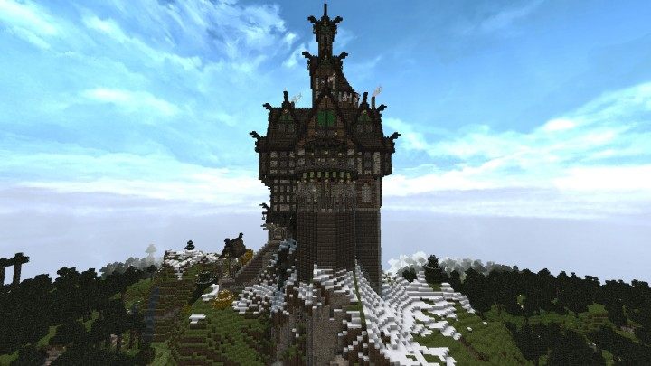 Skyrim-Inspired Castle Minecraft Project