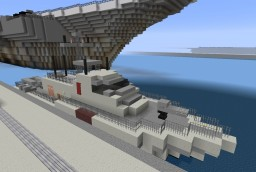 Modern Patrol Boat PT Minecraft Map & Project
