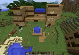 The Foundacious Ranch Minecraft Map & Project