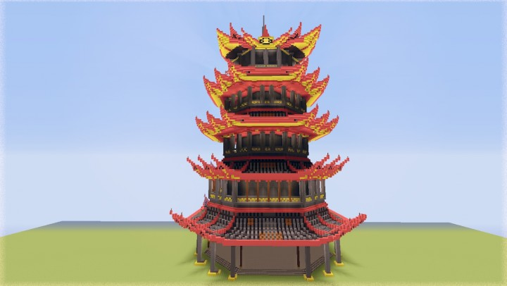 Avatar Fire Temple Minecraft Project