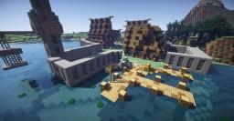 EmeraldCove | Customs Style Village | Feat. TheDalikTsuko Minecraft Map & Project