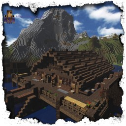 A Stilt House Town Hall In Little Debaria [DOWNLOAD] Minecraft Map & Project