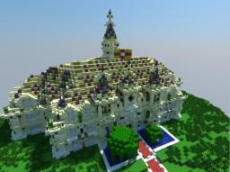 Acira, a fantasy palace Minecraft Project