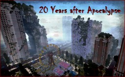 20 Years after Apocalypse (Destroyed City) Minecraft Project