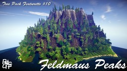 Feldmaus Peaks - Tree Pack Featurette #10 Minecraft Map & Project