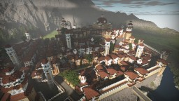The Hobbit - Esgaroth, Dale, Erebor & Ravenhill Minecraft Project