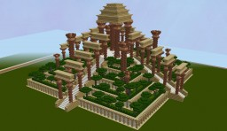 medium sized pyramid Minecraft