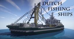 Dutch Fishing Ships | WoK | Keralis showcase Minecraft