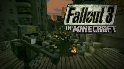 Fallout 3 Inspired Post Apocalyptic City Minecraft Map & Project