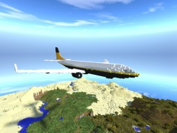 Flying Cronos Type 1 - Airplane (New White Star Line) Minecraft