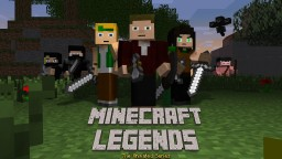 Minecraft Legends: The Animated Series Teaser Trailer Minecraft Blog Post