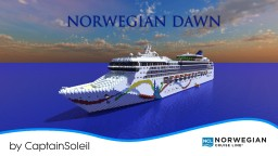 Norwegian Dawn Cruise Ship Replica! (Full Interior) [1:1 Scale] *POP REEL* Minecraft Project