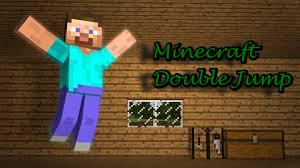 MineCraft Tutorials - Double Jump (In Vanilla Minecraft ...