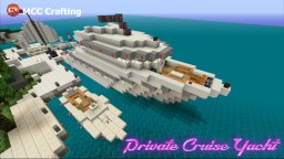 Private Cruise Yacht Ship Boat @ Los Block Santos PS3/PS4/CONSOLE Minecraft Map & Project