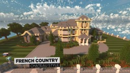 French Country Chateau | GBC | Architecture Minecraft Map & Project