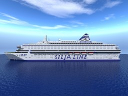 M/S Silja Europa Cruise Ferry [+Download] [Full Interior] Minecraft Map & Project