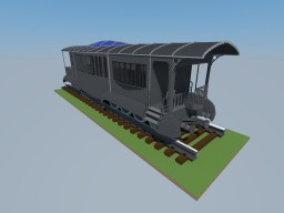 """Train from the game """"Syberia"""" (part 1. vagon) Minecraft Map & Project"""