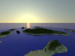 Tropical Islands (re-upload) Minecraft Map & Project