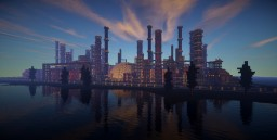 Modern Redstone Powerplant Minecraft Project