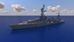 USS Northampton CA-26 || 1:1 Scale Minecraft Map & Project