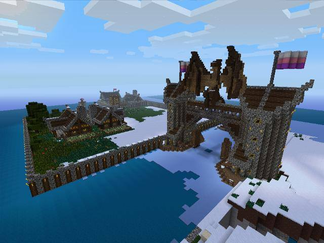 how to build a dragon in minecraft xbox 360