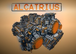 ALCATRIUS THE SPACE PRISON COMPLEX **DOWNLOAD AVAIBLE** Minecraft Map & Project