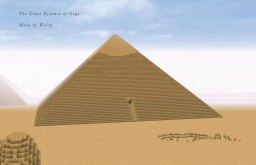 Pyramids of Giza (10500 BC) Minecraft Map & Project