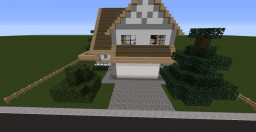Mid-Sized Suburban House 1 Minecraft Map & Project