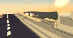 Modern Beach house Minecraft Map & Project