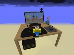 Gaming PC Minecraft Map & Project