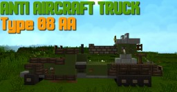 Anti-Aircraft Truck Type 08 Minecraft Map & Project