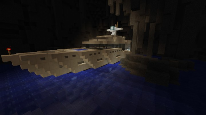 Private Yacht in a Cave