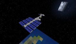 2024 - SFSS - Custom Space Station Minecraft Map & Project