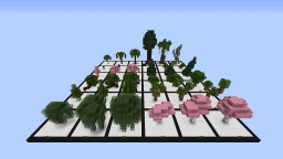 36 (More) Custom Trees Minecraft Map & Project