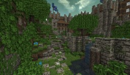 Medieval Server Spawn Minecraft Map & Project