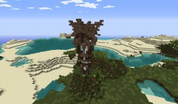 Small Medieval Tower Minecraft Map & Project