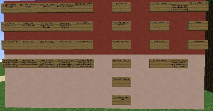 My Credits By Rizky Pramudya for Indira Ekayati, Shockrock3 Umar Ibrahim, etc.
