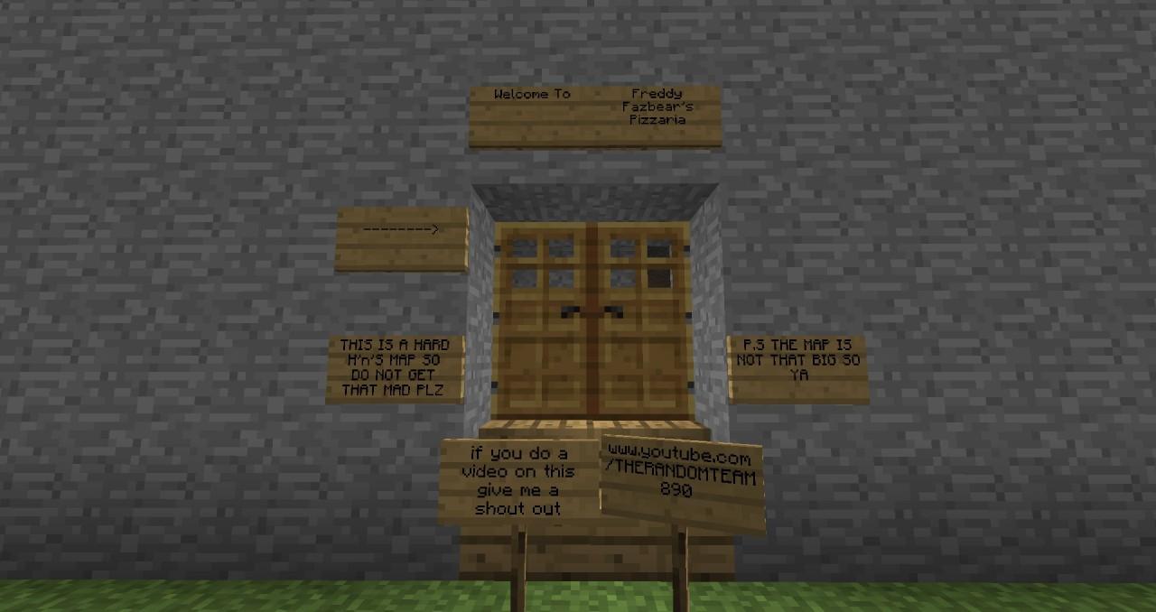 Minecraft hide n seek map fnaf 1 xbox 360 or one or pc minecraft