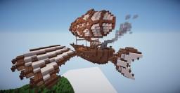 Steampunk Warship: SS Lenora - By Zetranix Minecraft Map & Project