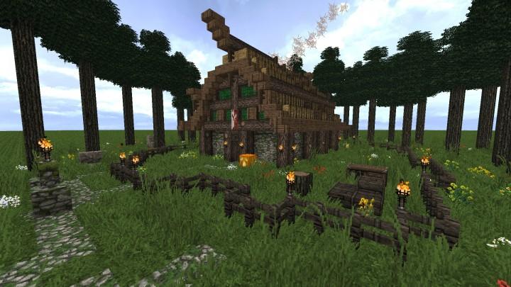 Fantasy Viking House Minecraft Project