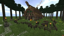Fantasy Viking House Minecraft Map & Project