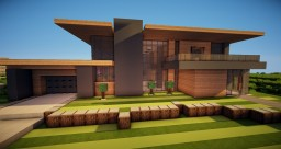 Minecraft Realistic Modern Home Two Minecraft Map & Project