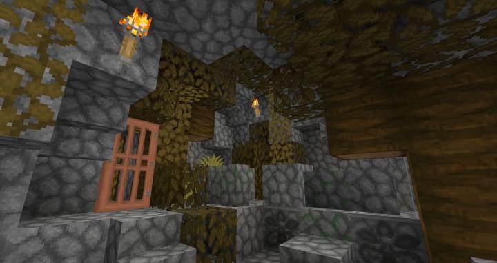 Acacia Door and new cobblestone - Update 0.8.5