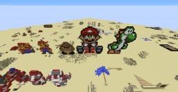 Mario Pixel Art