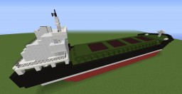 General Cargo Ship SIR Minecraft Map & Project