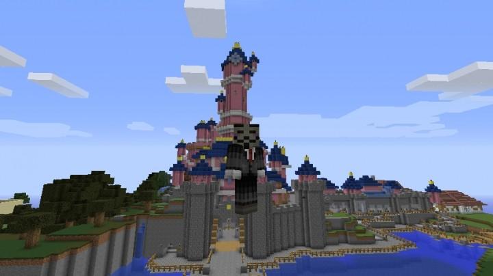 DisneyLand Paris MAP Minecraft Project - Disneyland map fur minecraft pe