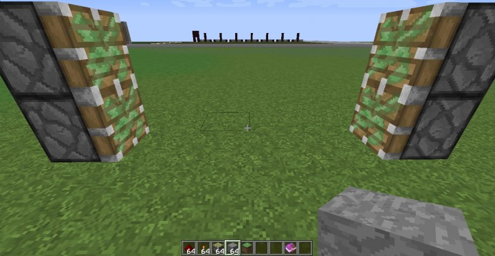 how to build a sticky piston door