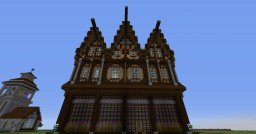 My first midieval themed build Minecraft Map & Project