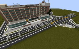 Police HQ (incomplete) Minecraft Map & Project
