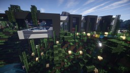 Butzz | Modern House Minecraft Map & Project